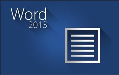 Recursos Word 2013